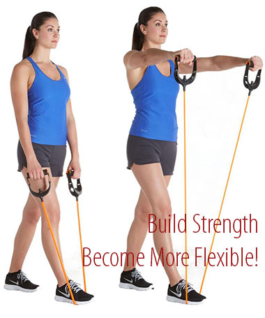 Resistance Band Workout Fitness