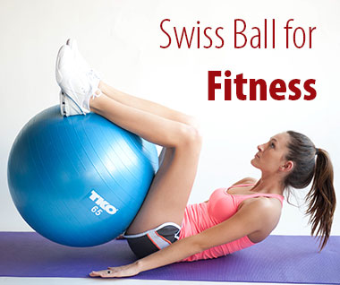 abs exercise with stability ball