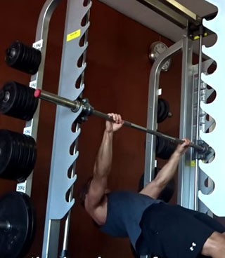 Pull Up Exercise: Hang from The Bar